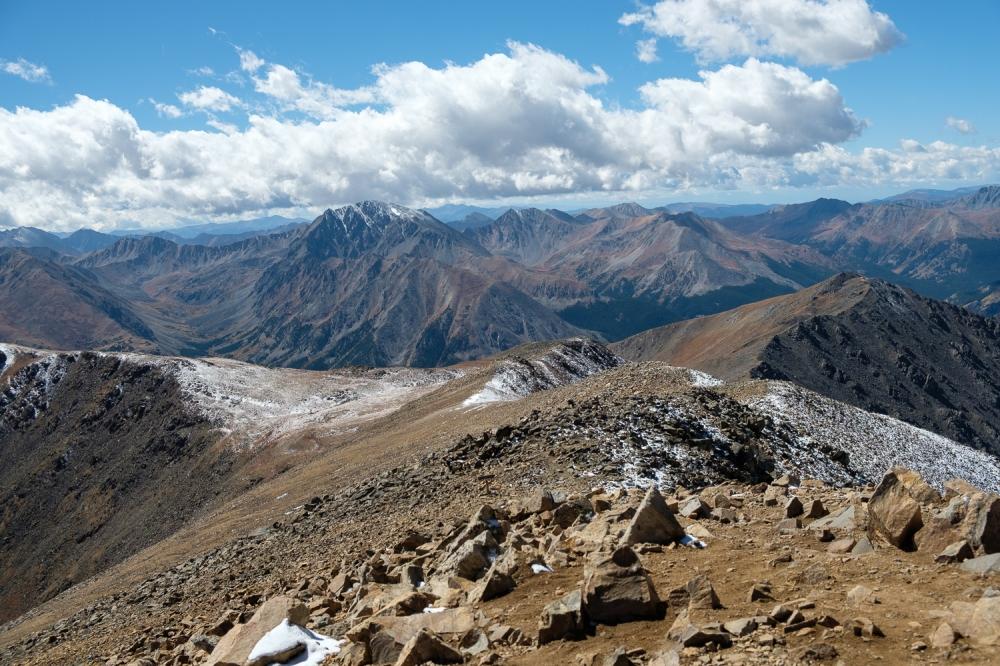 La Plata Peak, the last mountain Andy and I climbed together