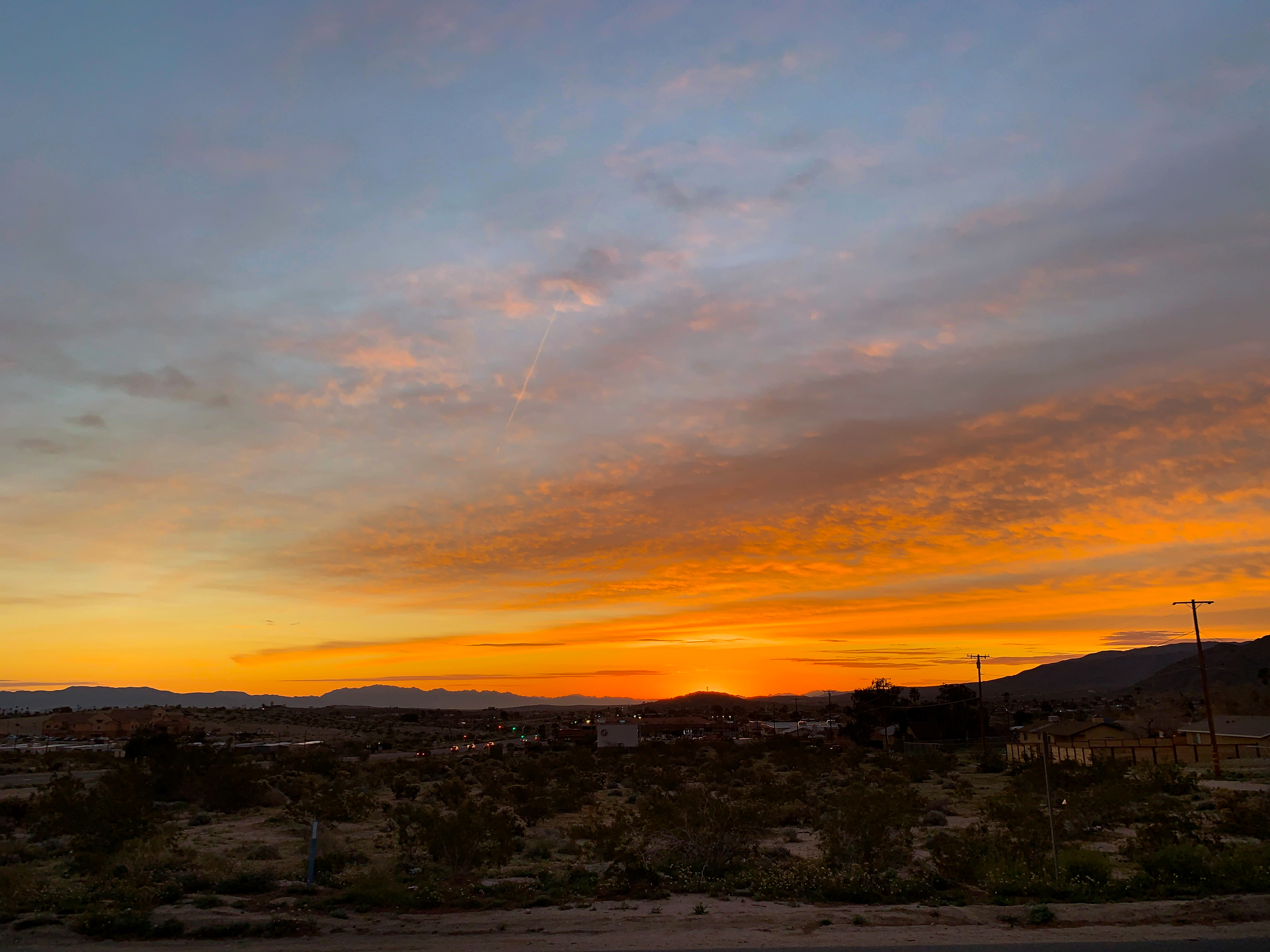 Sunrise at Joshua Tree Hotel