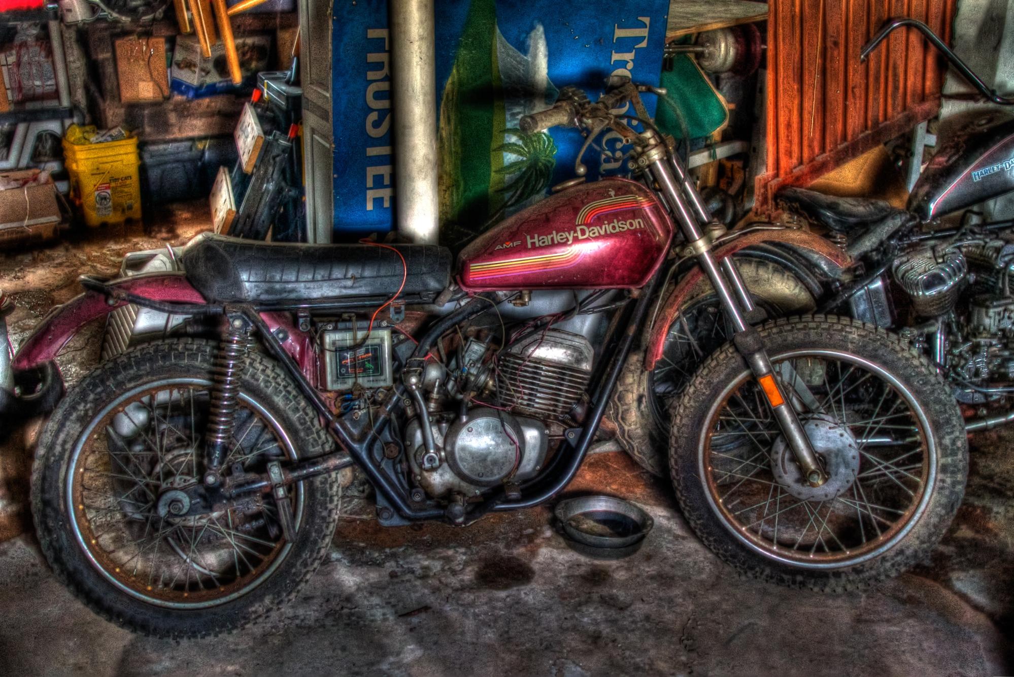EverydaySurreal motorcycle