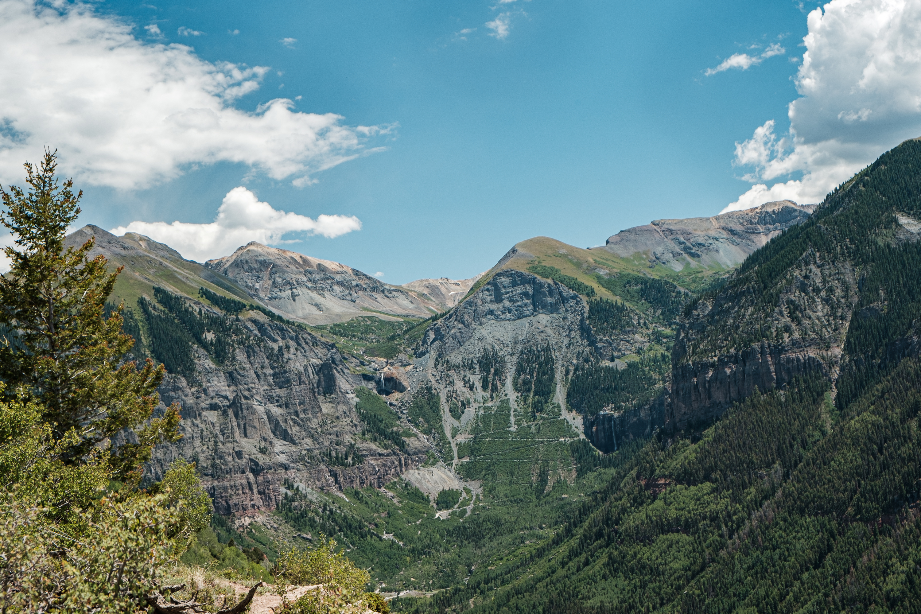 The road down Black Bear Pass is considered one of the most dangerous in North America
