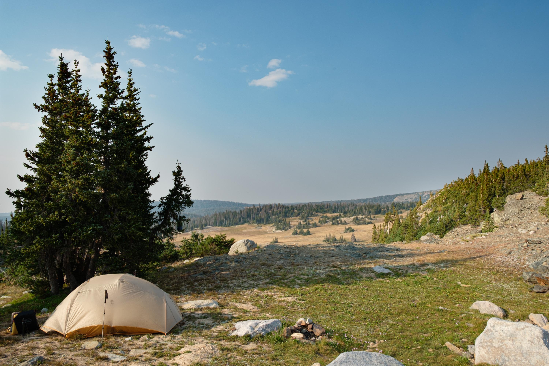 Shelf Lake Campsite