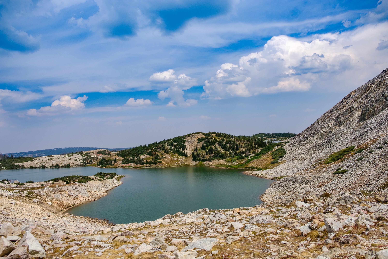 Upper Gap Lake and Shelf Lake #1